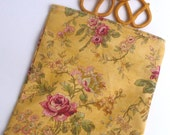 Reusable  Snack Bag Sandwich Cloth - Sweet Rose eco friendly by BonTons on Etsy