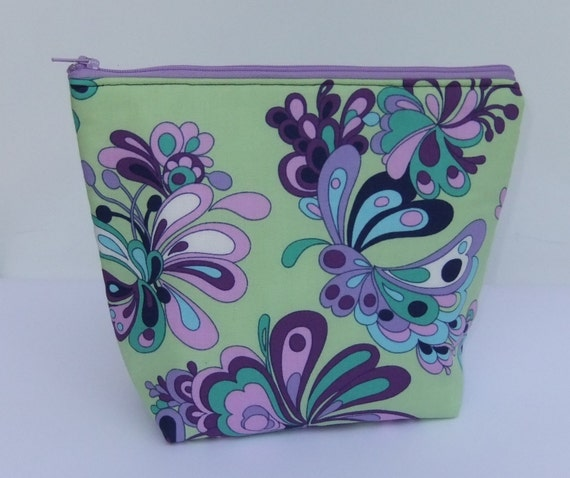 Insulated Lunch Bag Little - Zip Eco Friendly Ribbon Dance by BonTons on Etsy