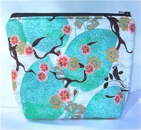 Insulated Little Lunch Bag - Zip Eco Friendly Little Bird by BonTonsGifts on Etsy Last one