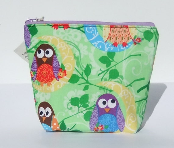 Insulated Lunch Bag Little - Zip Eco Friendly Bird Swing by BonTonsGifts on Etsy
