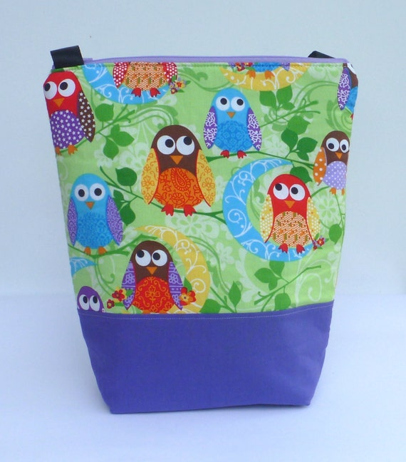 Reserved for Tanya Custom Insulated Lunch Bag Tote  Eco Friendly Zip  More Birds by BonTonsGifts on Etsy