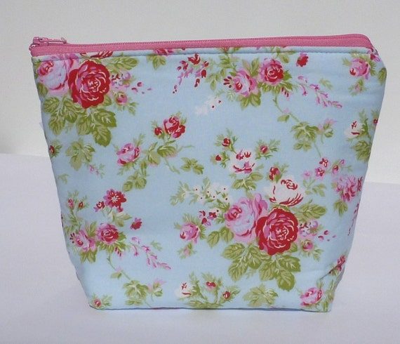 Insulated Lunch Bag Little - Zip Eco Friendly Little Rose by BonTonsGifts on Etsy