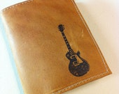billfold wallet with card slots leather custom for you guitar