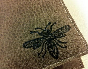 billfold wallet with card slots leather custom for you bee