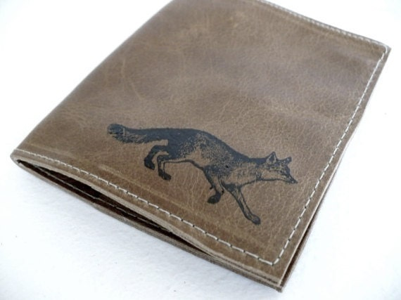 billfold wallet with card slots leather custom for you fox