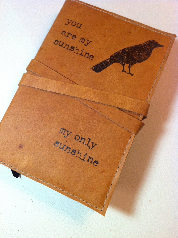 Custom made writing journals
