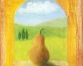Italian Windowsill Series - Yellow Pear