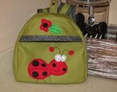 Lady Bug Toddler Backpack