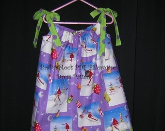 Pillowcase Dress PDF  - Easy instructions 3M to 6Y