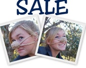 SALE Special Pricing Two Barely There Nose Warmers, Teen, Tween, Woman, Man, Nose Cozy, Crocheted