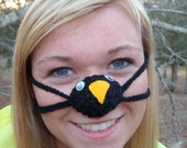 Nose Warmer Penguin, Frozen Nose Cozy, Tween, Teen, Adult, Unisex, Cold Nose Mitten, Stocking Stuffer, Silly Fun Gift Idea, Indoors or out