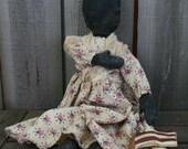 Primitive Americana Doll-I Pledge Allegiance