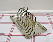 RESERVED for blovdprincess Toast Rack Tray ...vintage english epns silver