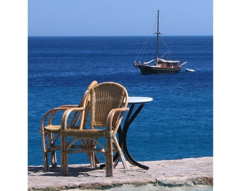 Mykonos View of the Sea