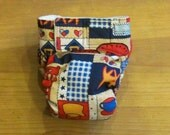 Small Patchwork Diaper Cover -CLEARANCE-