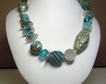 SALE:  Teal Treasures (as seen in May's Bead Trends Magazine