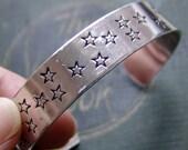 Personalized Aluminum Cuff Bracelet