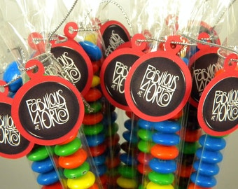 40th Birthday Candy Treat Bag Favors - Fabulous at Forty Set of 12