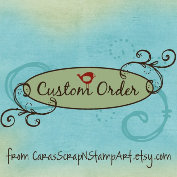 Custom Order for genie1