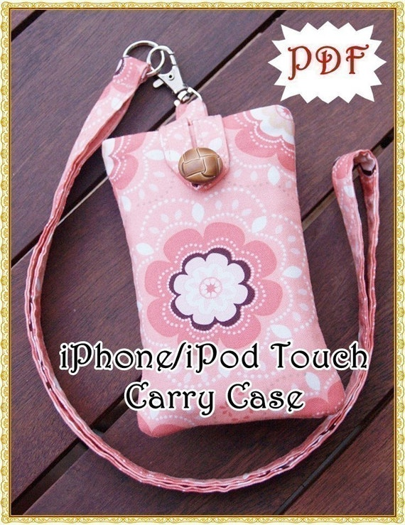 How to Make an iPhone/iPod Touch Carry Case  - eBook (PDF)