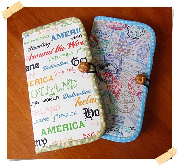 How to Make a Travel Wallet/Organizer - Digital File DIRECT DOWNLOAD