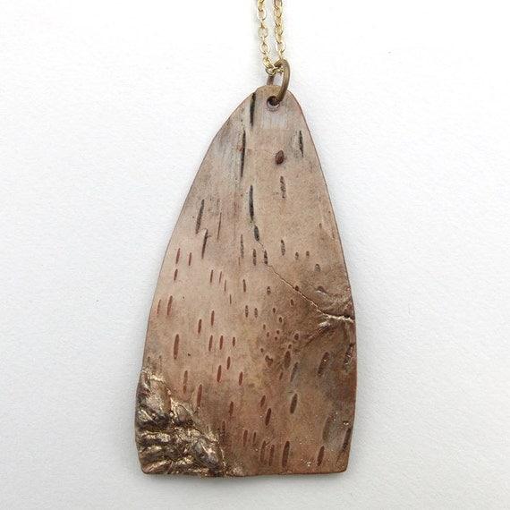 Birch bark necklace, Logde