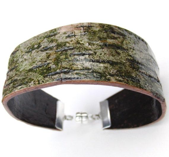 how to make a bark bracelet