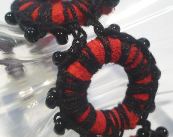 Suede and Crochet Bracelet from the Suede Collection SD110