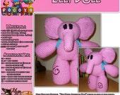 Elly from Pocoyo - PDF Crochet Pattern