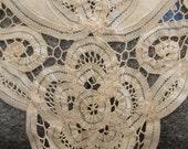 Reserved for Nakia----Antique Linen Collar