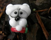 Lampworkers inventory PURGE -- CHRiSTMAS polar bear -
