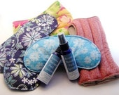 Two aromaTHERAPY Pack Spritzers - for microwavable hot and cold pads, microwave heating pad sprays