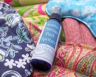 Spritzer, aromaTHERAPY Pack Spray for microwave heating pads, natural essential oil
