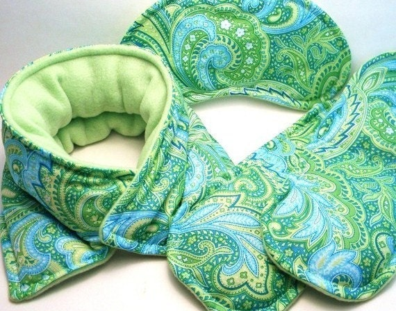 Rice Bag Gift Set Neck Wrap Eye Pillow Foot By Theferriswheels