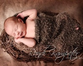 Baby Cocoon Photo Prop, Natural, Eco-Friendly and Forest Theme Photography