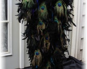 The Designer ORIGINAL Peacock Tail Costume - One size fits most - Guaranteed Delivery By Halloween