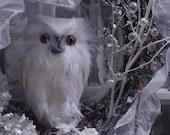 FREE US SHIPPING Snowy Owl's Crystal Wonderland