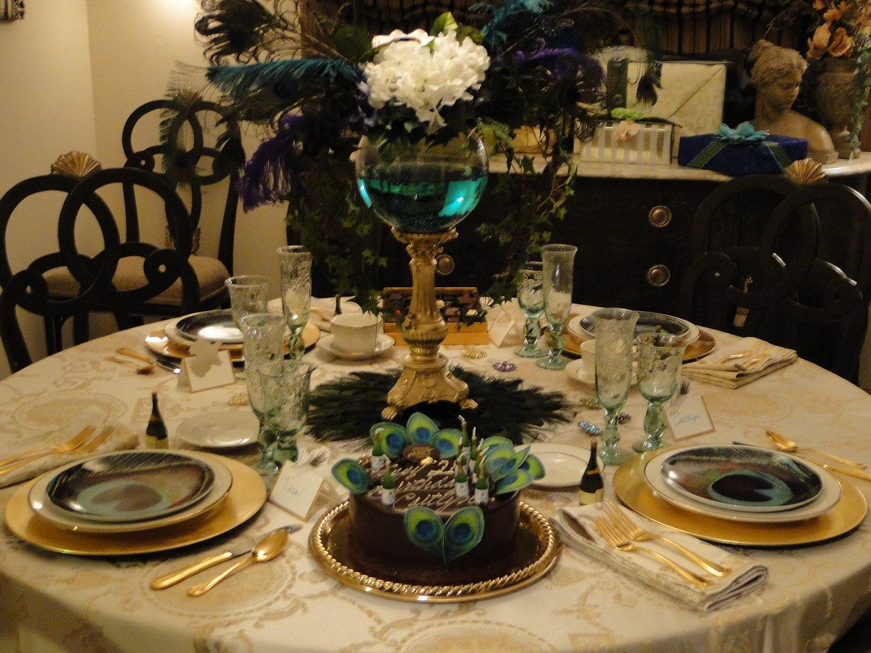 Chandeliers pendant lights - Peacock arrangements weddings ...