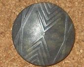 Set of 4 Zig Zag Vintage Buttons