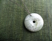 Gimme World Peace Jade Pendant Necklace