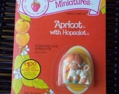 Vintage Straawberry Shortcake Figure - Apricot with Hopsalot