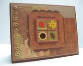 Sunflower Inchie Card