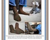 Waffle Knit Socks Pattern PDF