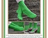 Labyrinth Socks Knitting Pattern PDF