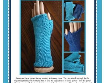 Skyscraper Fingerless Gloves Pattern PDF
