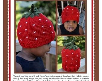 Strawberry Hat Pattern PDF