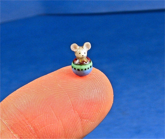 miniature okubo orginal toy mouse sculpture