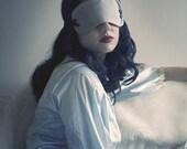 Grace Silk and Velvet Ribbon Sleep Mask