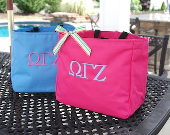 Greek Sorority  - Personalized Tote - Resort