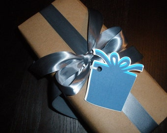 Adorable Gift Box Tags ( Set of 6 )